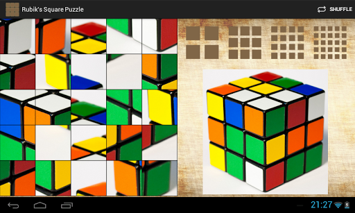【免費休閒App】Rubik's Square Puzzle-APP點子