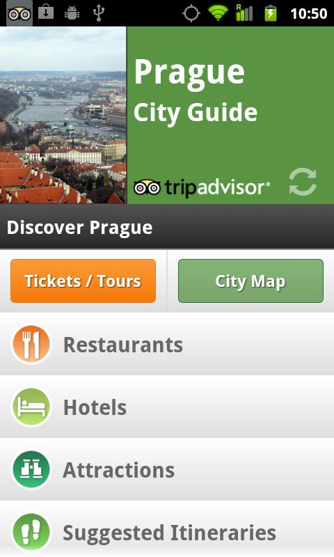 Prague City Guide screenshot #1