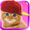 Sweet Cat. Dress Up Wallpaper icon