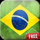 Flag of Brazil Live Wallpaper icon