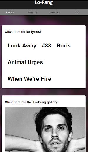 Lo-Fang Lyrics