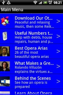 Opera Music - screenshot thumbnail