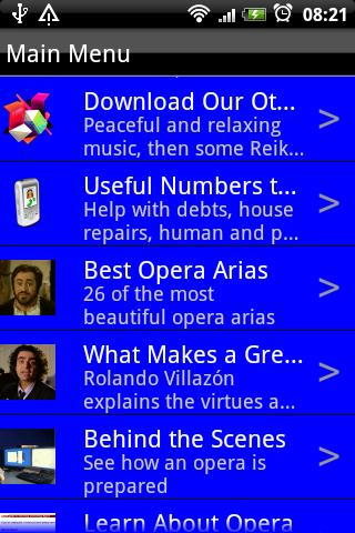 Opera Music - screenshot