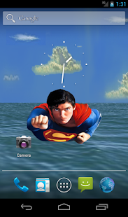 Superman Sky Live Wallpaper