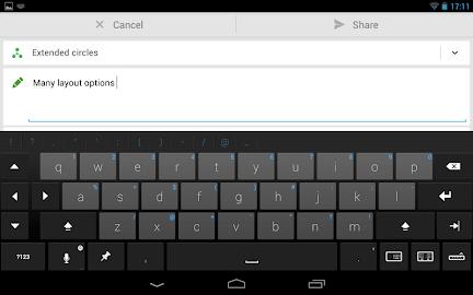 Thumb Keyboard Screenshot 19