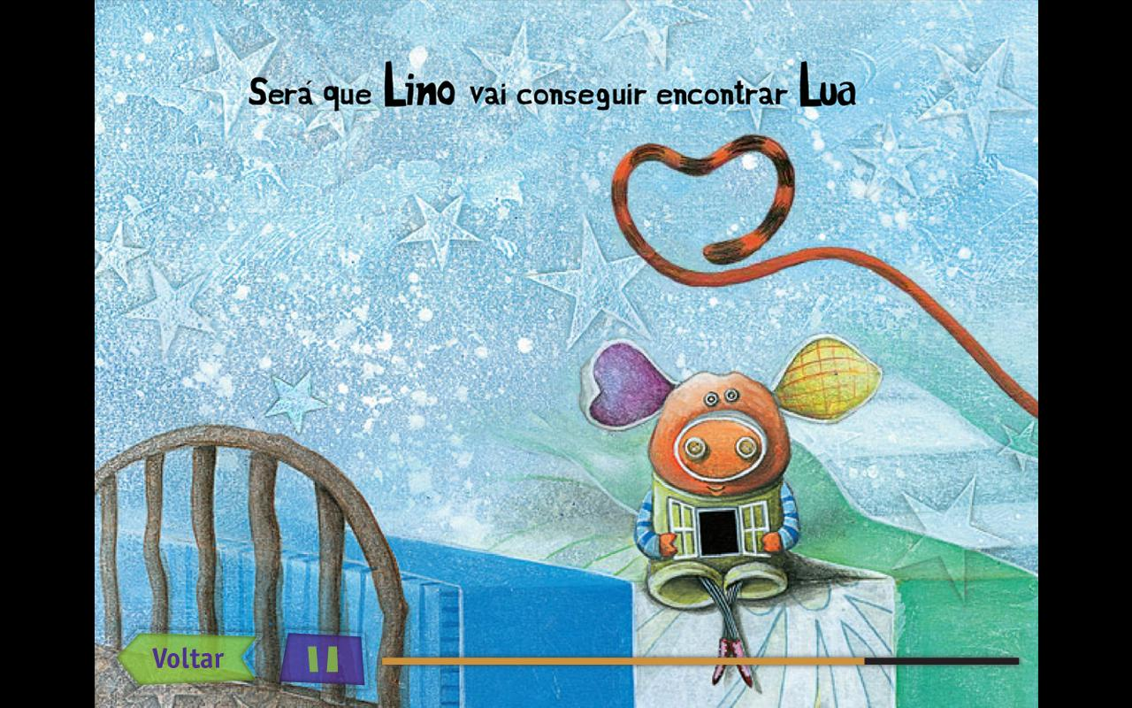 Lino - Livro Digital - screenshot