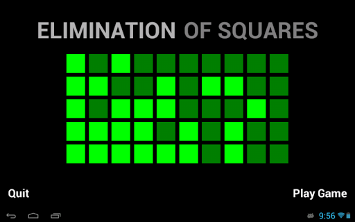 Elimination of Squares Lite