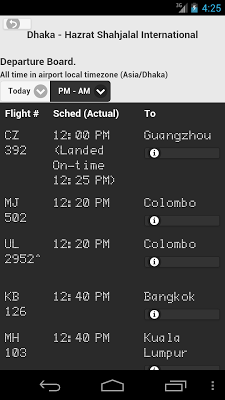 Bangladesh Flight Live - screenshot