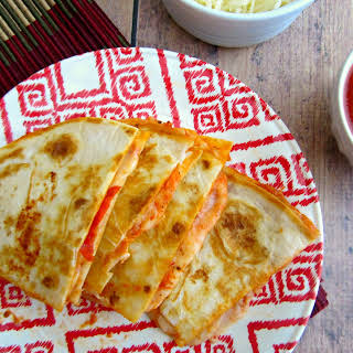 Easy Pizza Quesadillas.