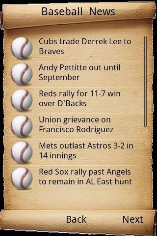 Sports News - screenshot