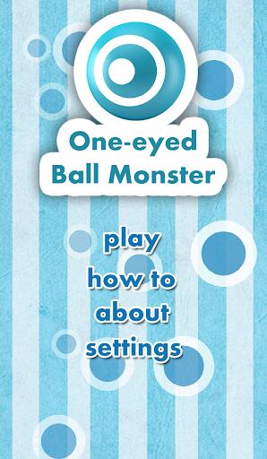 One-eyed Ball Monster