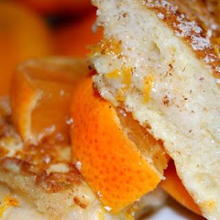 Mascarpone Stuffed French Toast Fritters.