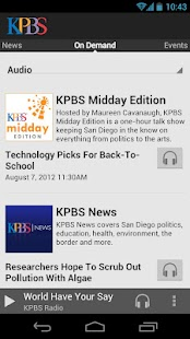 KPBS - screenshot thumbnail