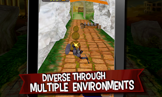 Screenshot of Extreme Angry Sparta Runner 3D