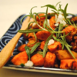 Rosemary Garlic Carrots