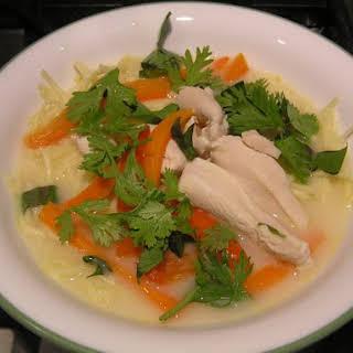 Lots O'Laksa (Malaysian-Style Chicken Soup).