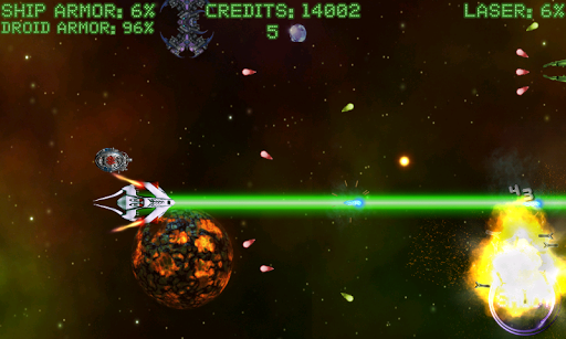 【免費動作App】Space Fighter: Alien Invaders-APP點子