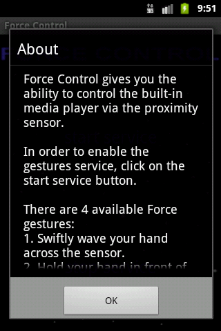 Force Control - screenshot