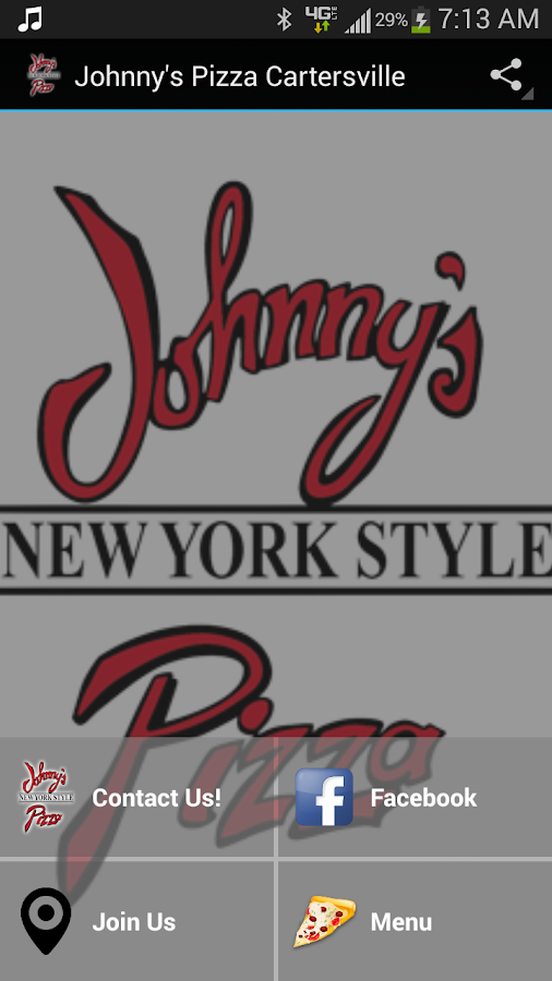 Johnny's Pizza Cartersville- screenshot
