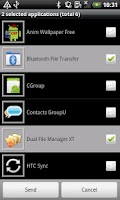 Screenshot of Bluetooth File Transfer