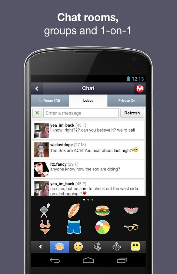 Moco Chat - screenshot