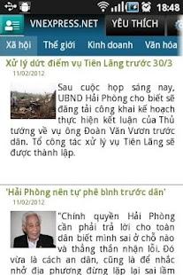 Đọc báo Việt- tin tuc, doc bao- screenshot thumbnail