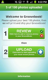 Groovebook Photobook - screenshot thumbnail