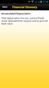 Gotax Financial Glossary - screenshot thumbnail