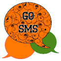 GO SMS - Halloween Swirl icon