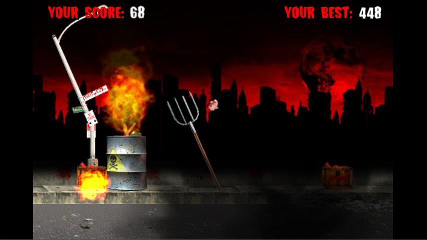 Zombie Golf Riot - screenshot