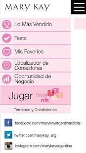 Descubrí lo que Amás Mary Kay screenshot