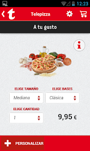 Telepizza screenshot 2