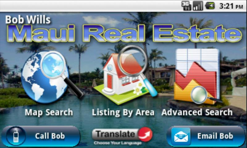 Maui Real Estate - screenshot