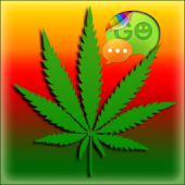 Weed Ganja Free Go SMS THEME