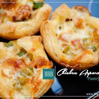 Chicken Asparagus Pastry Bundles