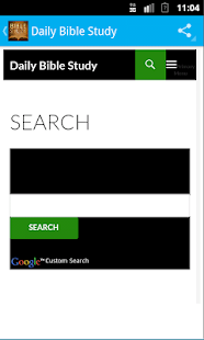 Daily Bible Study- screenshot thumbnail