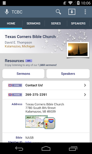 Texas Corners Bible Church