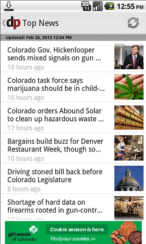 The Denver Post - screenshot