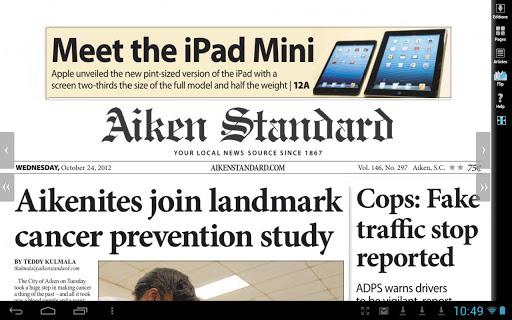 Aiken Standard newspaper