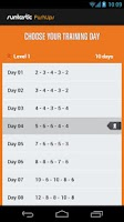 Screenshot of Runtastic Push-Ups Workout PRO