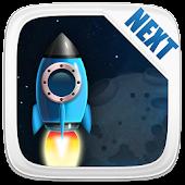Next Launcher Theme Cosmic