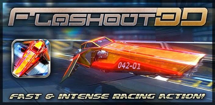 Flashout 3D - гонки на космических кораблях для android