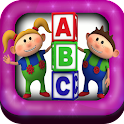 Alphabet Match Games Free icon