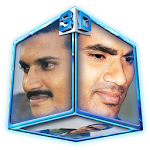 3D Photo Cube Wallpaper