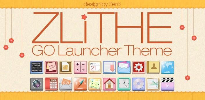 ZLithe GO Launcher Theme apk