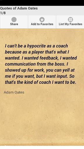 Quotes of Adam Oates