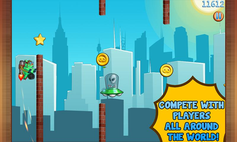 Jetpack Piggies Bros- screenshot