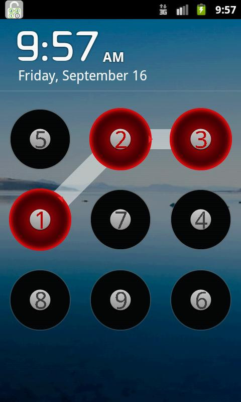 Number Track Lock - screenshot