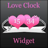 Love Digital Clock