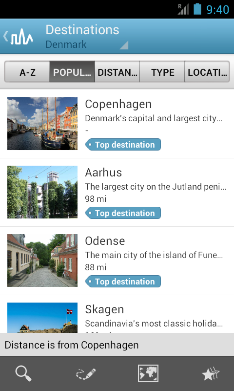 Denmark Travel Guide- screenshot